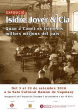 Cartell exposició Isidre Jover & Cia