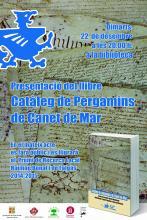 """Cartell """"Llibre Pergamins de Canet"""""""