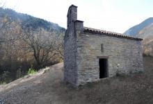 Recreació de l'ermita de Sant Pere de Romeguera - realitzat per Gemma Martí