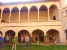 Interior del pati d'armes del Castell de Santa Florentina