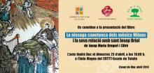 Presentació llibre Milans i Sant Josep Oriol