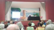 Imatge de la conferència de Ricard Cantano