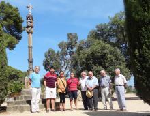 Imatge de grup al Parc del Santuari